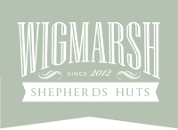 Wigmarsh Shepherds huts Logo