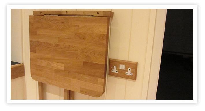 foldable oak table wigmarsh